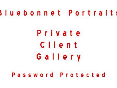 Bluebonnet Portraits