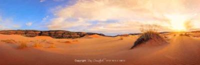 Panorama Prints: Coral Pink Sands