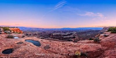 Panorama Prints: Moab