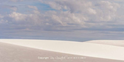 Panorama Prints: White Sands New Mexico
