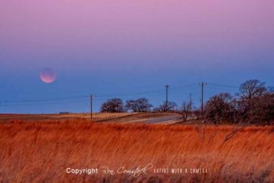 Standard Size Prints: Lunar Eclipse Jan 2018