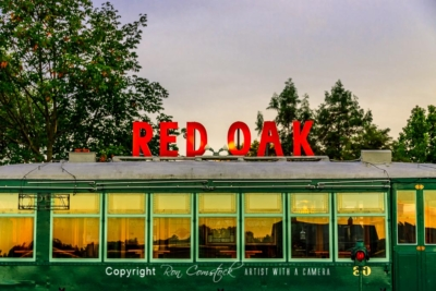 Standard Size Prints: Route 66 Red Oak